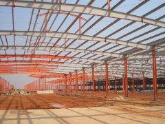 钢结构厂房工程(大跨度式)