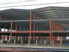 钢结构厂房工程(三层钢架式)