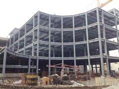 多层钢结构工程搭建