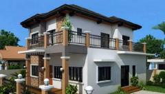 新乡下最佳2层自建房别墅户型 地基13米X16米