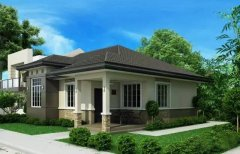 新农村钢结构别墅11米X13米 3房2