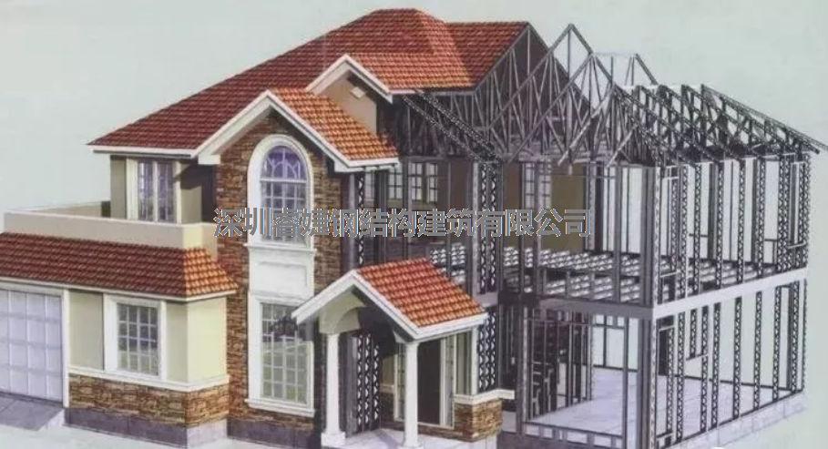 一,轻钢别墅突出于优点传统,有其相比的家具住宅别墅v别墅海南图片
