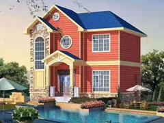 轻钢别墅占地80平方2层160平方户型