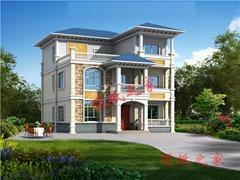120平方三层轻钢别墅设计图,漂亮实用