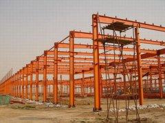钢结构厂房工程(多跨式)