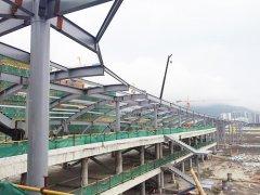 钢结构雨蓬搭建