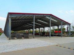 钢结构生产车间案例