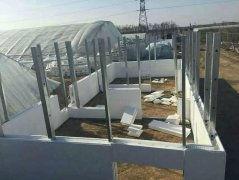 钢结构别墅轻钢房之免拆模整体现浇方案
