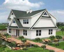 轻钢结构别墅和传统砖混造价对比