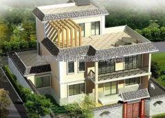 钢结构别墅的出现标志着农村建房跟时代的来临