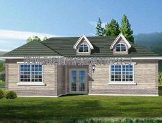 轻钢结构别墅住宅-主打环保节能路线