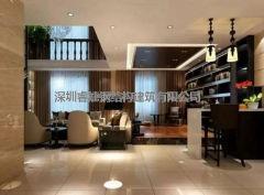 睿婕钢结构装修:260平米现代简约别墅,黑白色调一样出众