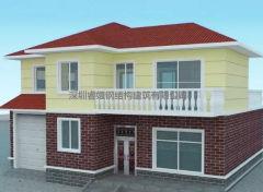 乡村业主自建两层轻钢别墅,造价才40多万,引来全村人的关注