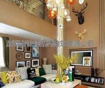 270平北欧轻钢别墅室内装修,家本应如此温情!