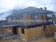 浅谈轻钢房屋建筑的发展模式