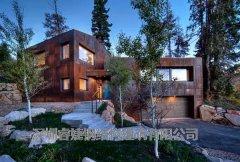 214平米的林野双层别墅设计 古朴外观的风格