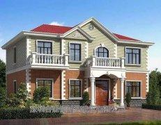 自建房轻钢别墅两层房子200平米多少钱?