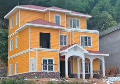 东兴轻钢别墅设计施工 30万起建别墅 抗9级地震