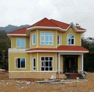 张家界轻钢别墅设计施工 防13级台风 29万建别墅