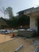 浏阳老房子外墙翻新和外墙美化施工