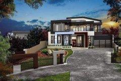 三大风格的轻钢别墅欣赏,选一款心动的回家盖起来吧!