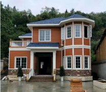 农村自建房 轻钢别墅将成为未来趋势