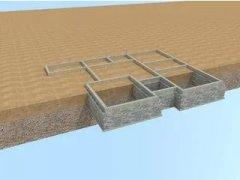 建轻钢别墅时做地基应该选择什么材料?